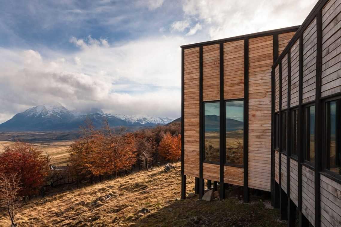 cabana de madeira awasi hotel patagonia foto 9