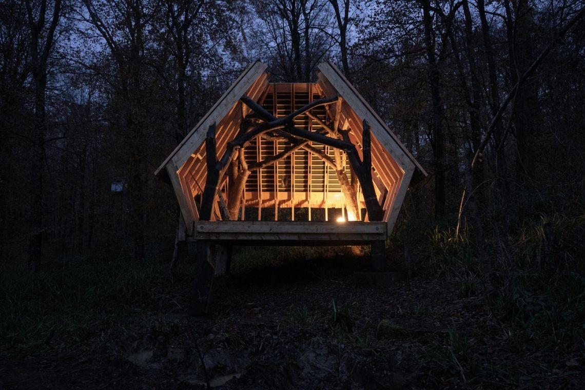 cabana robos Woodland Cabin foto 8