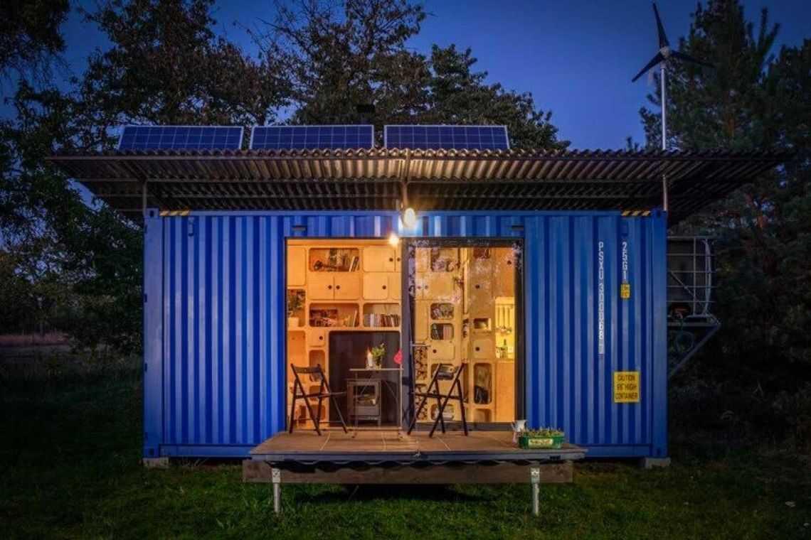 casa container off-grid foto 1