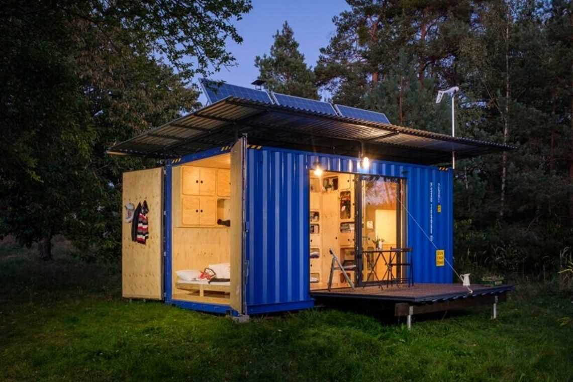 casa container off-grid foto 2