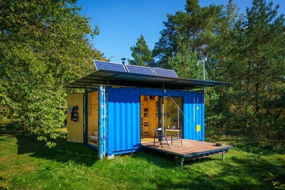 casa container off-grid foto 3