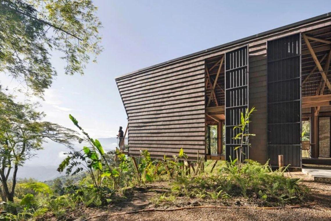 casa de madeira experimental foto 1