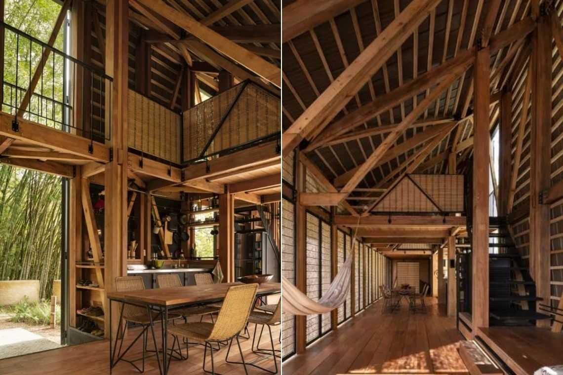 casa de madeira experimental foto 2