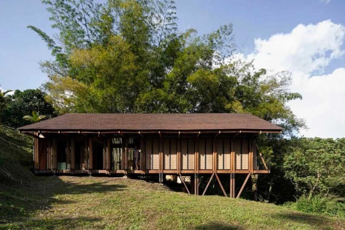 casa de madeira experimental foto 7
