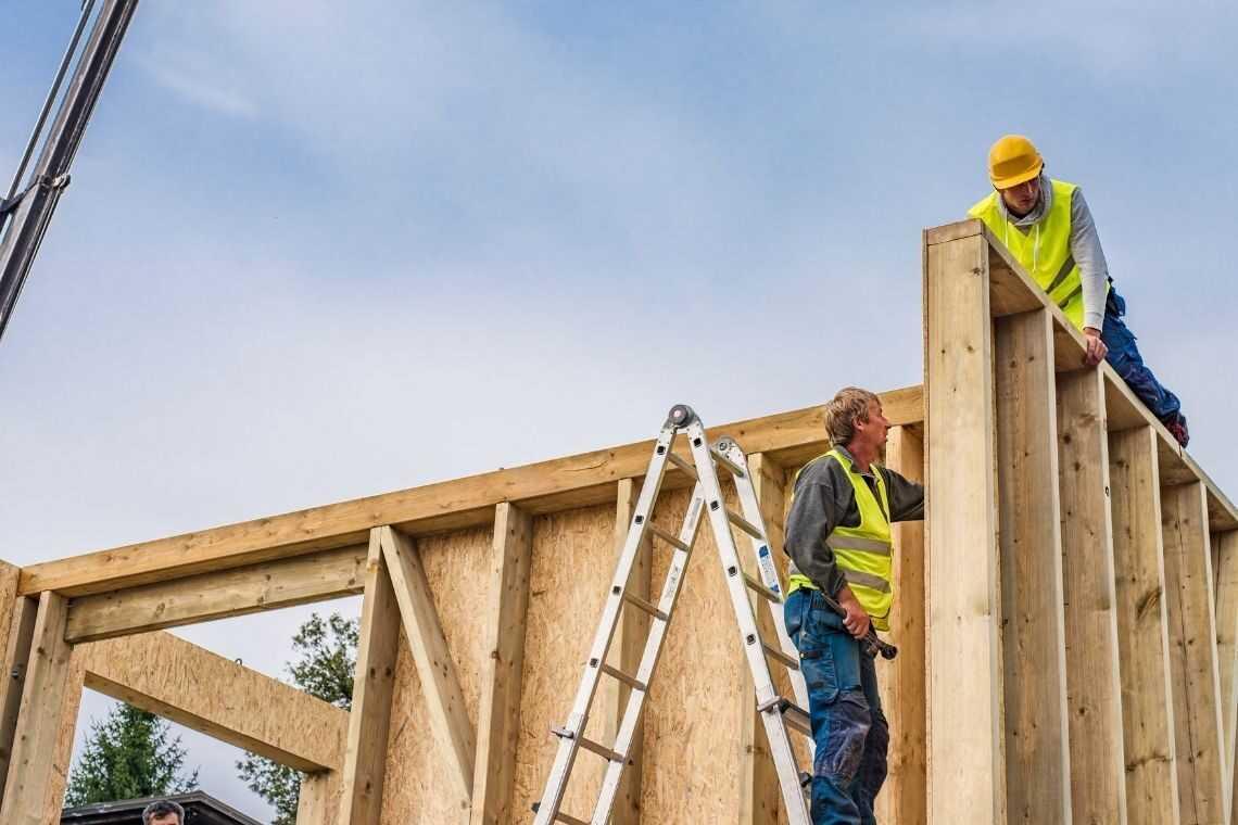 kit casa de madeira
