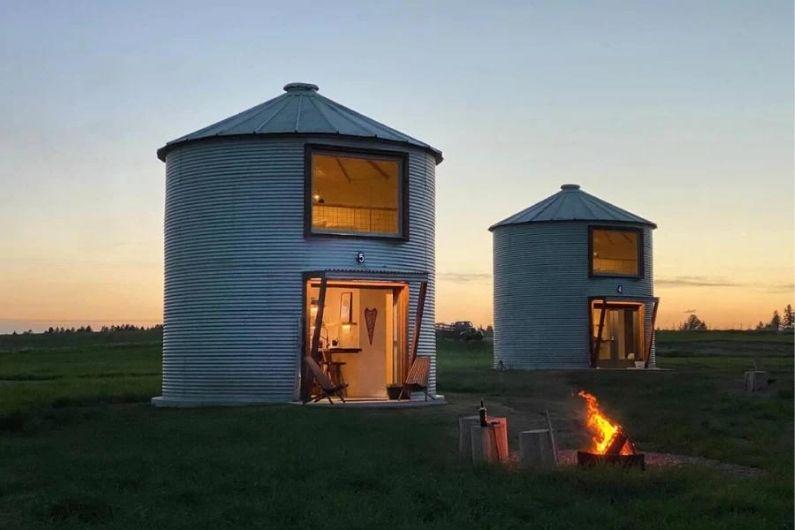 silos graneleiros casas foto 1
