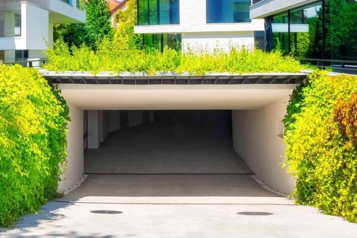Casa com garagem subterrânea
