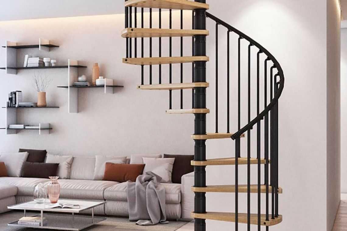 Escada caracol ou espiral (2)