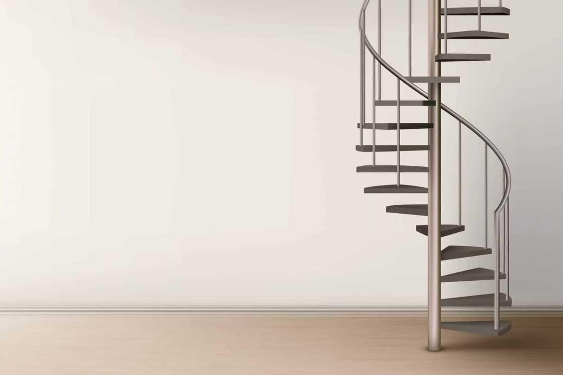 Escada caracol ou espiral (3)