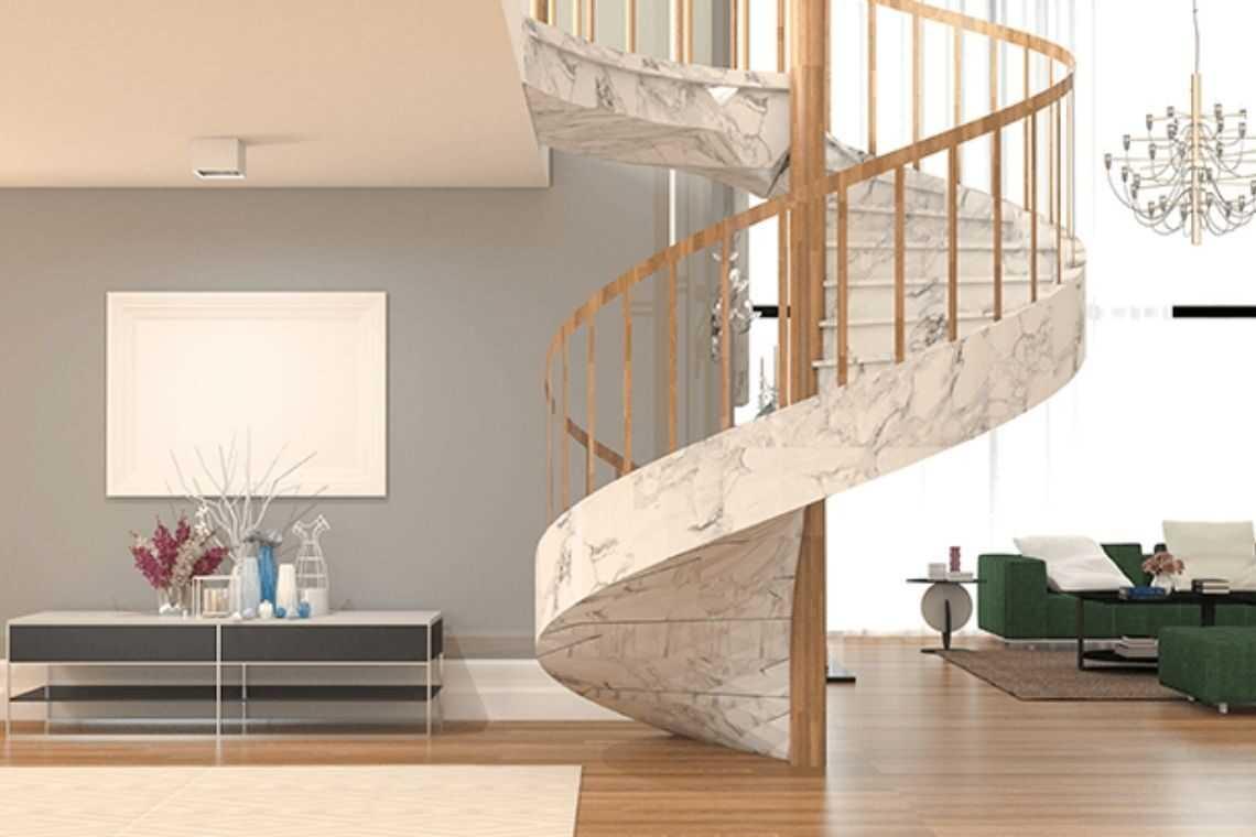 Escada caracol ou espiral (4)