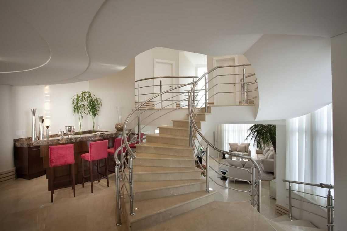 Escada curva ou circular