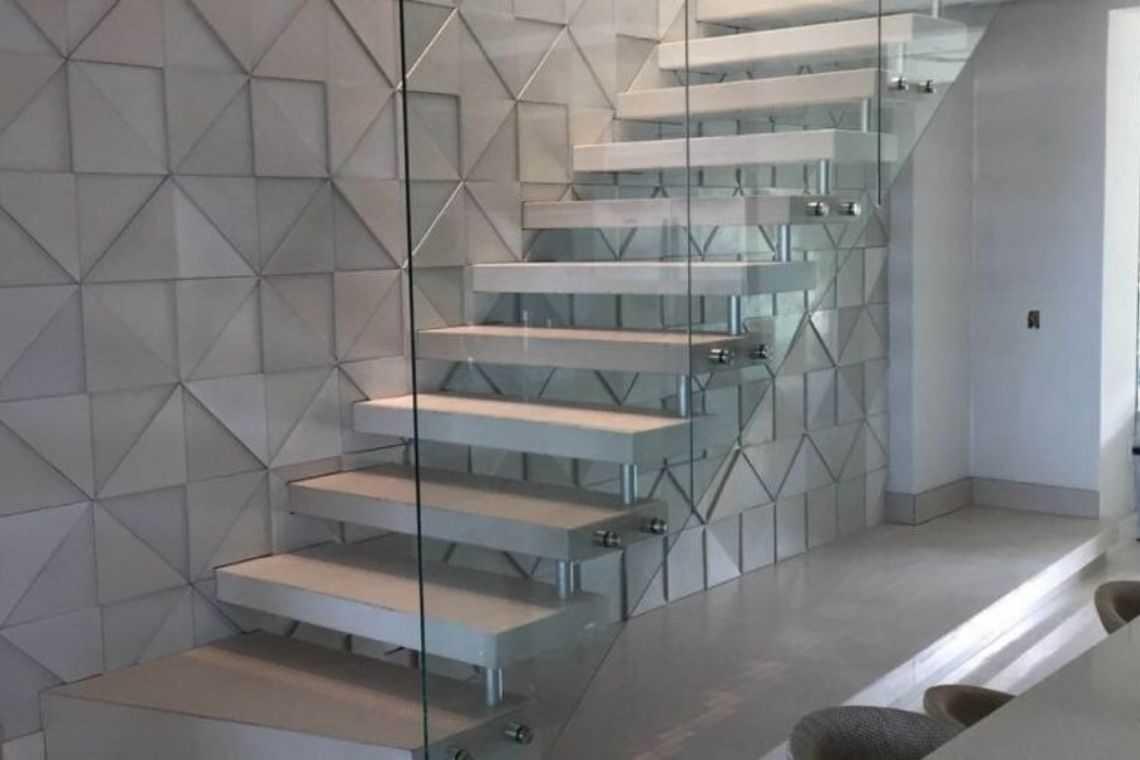Escada reta de um lance (2)