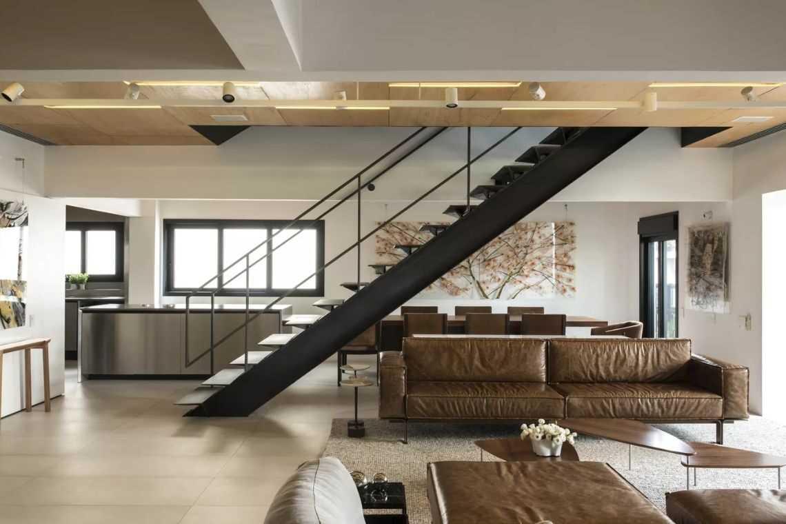 Escada reta de um lance (3)