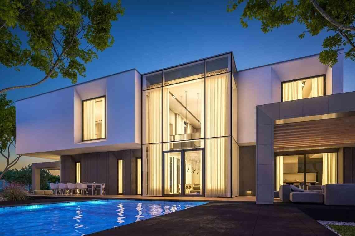Modelos de casas modernas de dois ou mais andares