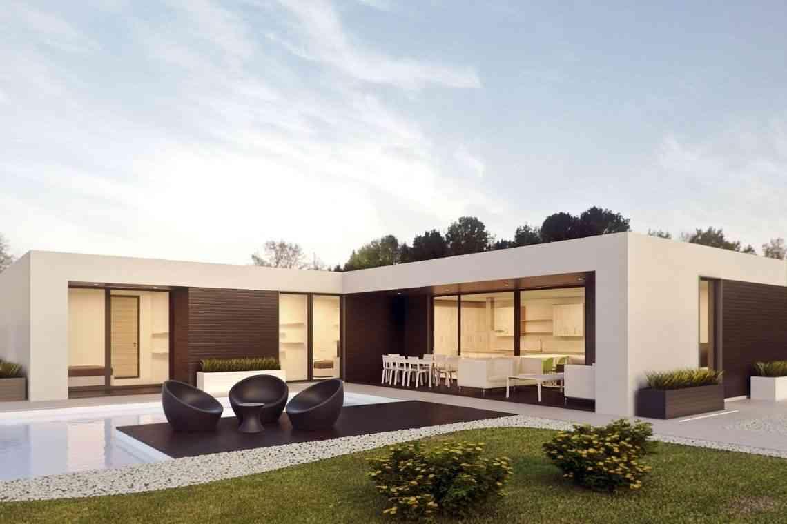 Modelos de casas modernas térreas