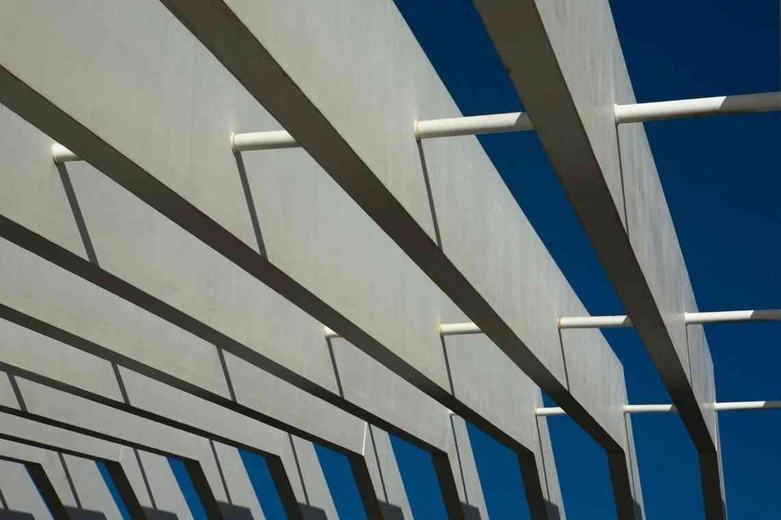 Pergolado de concreto