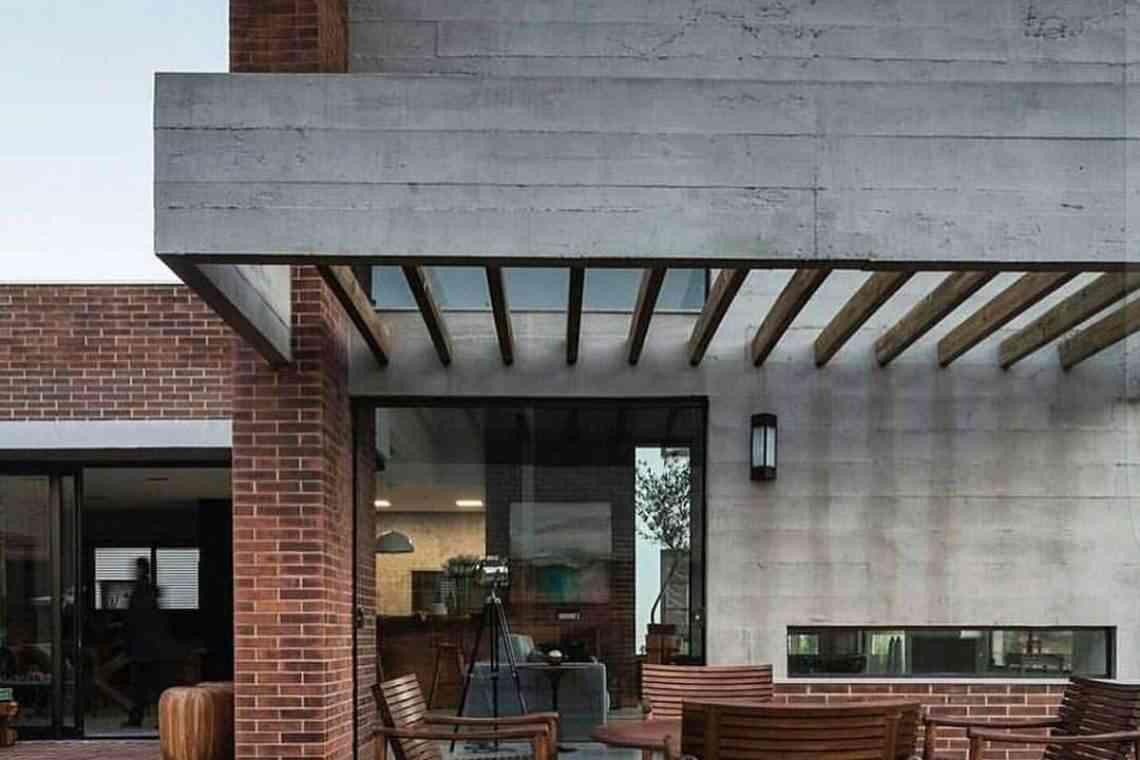 Pergolado de concreto em áreas de lazer e convivência (2)