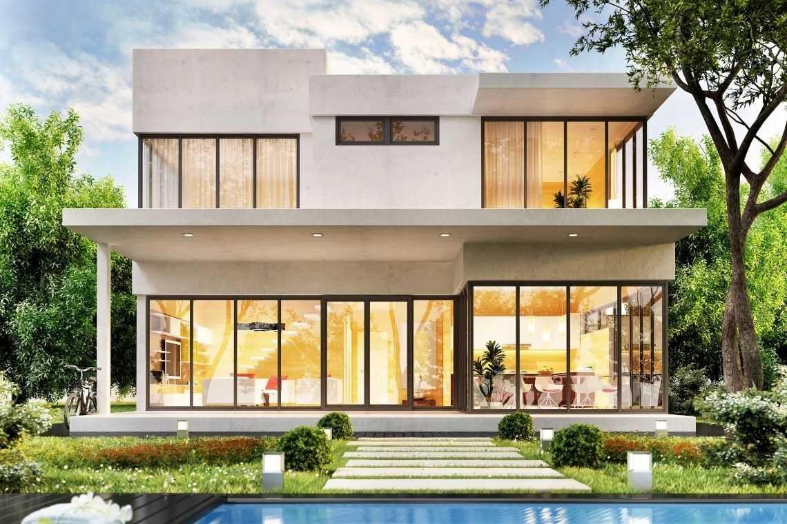 Projetos de casas de modernas