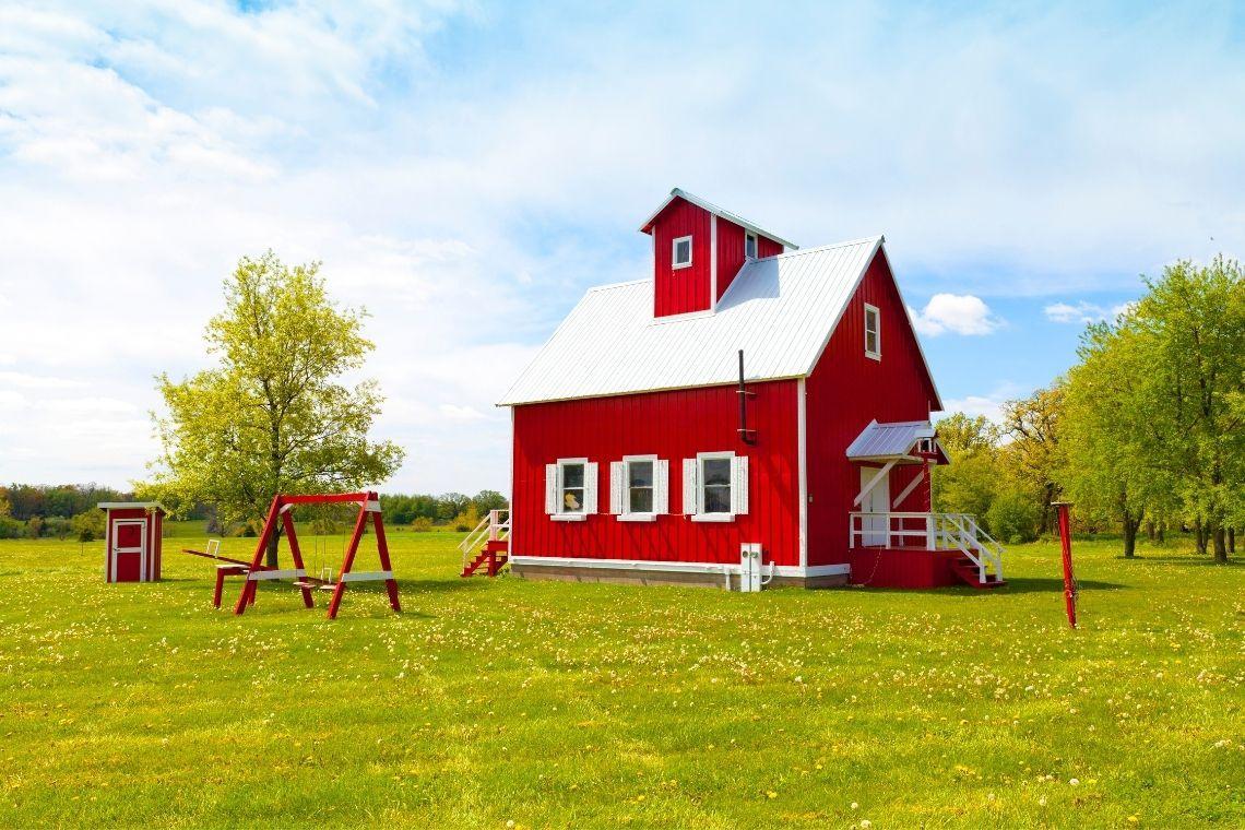 casa de madeira para sitio